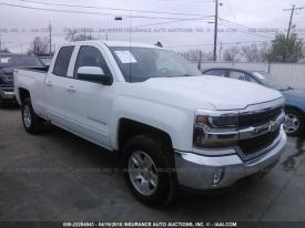 Salvage Chevrolet Silverado 1500